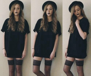 black, fashion, and grunge image