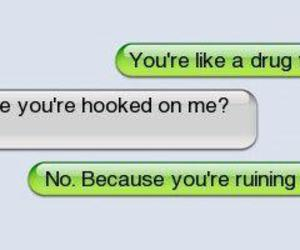 drugs, iphone, and text image