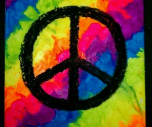 acid, colorful, and hippie image