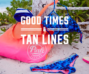 pink, beach, and tan image