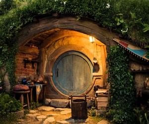 bilbo, green, and fantasy image