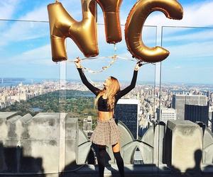 nyc, girl, and new york image