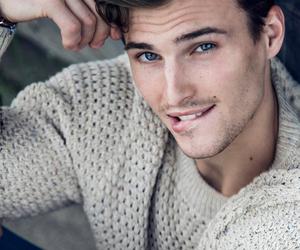 boy, blue eyes, and model image