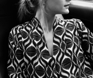 fashion, olivia palermo, and black and white image