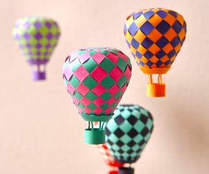 balloons, diy, and Paper image