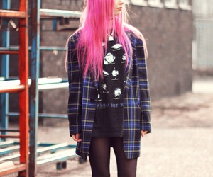 alternative, cute girl, and fashion image