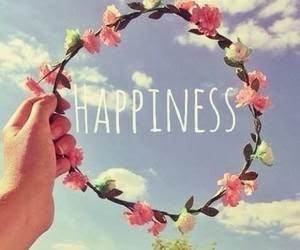 flower crown and happiness image