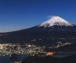 beautiful, city, and fuji image