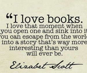 book, quote, and love image