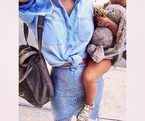 baby, girl, and style image