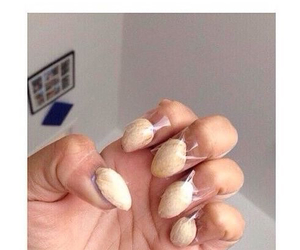 funny, girls, and nails image