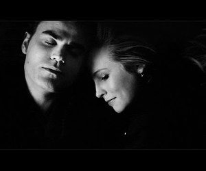 caroline, stefan, and tvd image
