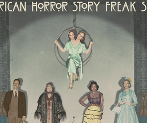 fox, freak show, and grunge image