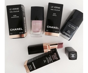 makeup, beautiful, and chanel image