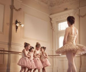 ballet, little girls, and class image