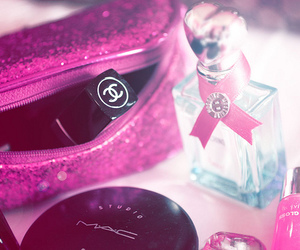 chanel, pink, and mac image