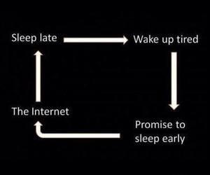 internet, sleep, and true image