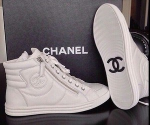 chanel, shoes, and white image