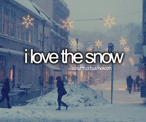 andthatswhoiam, snow, and tumblr image