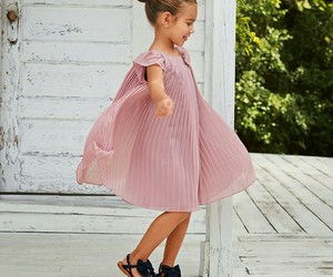 black shoes, children, and dress image