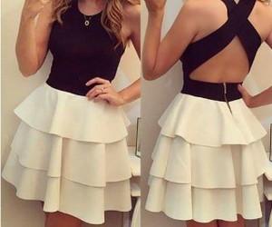 dress, skirts, and croptops image