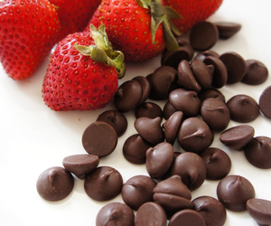 chocolate and love image