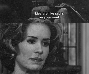 ahs, lies, and american horror story image