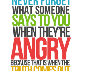 quote, angry, and truth image