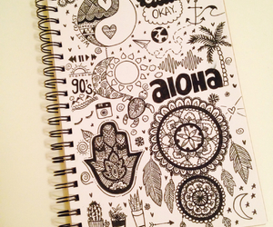 Aloha, tropical, and art image