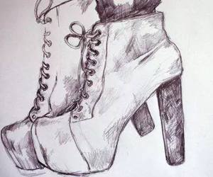 art, shoes, and cool image