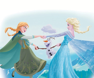 frozen and princess image