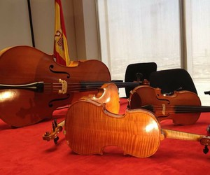 musica, violonchelo, and viola image