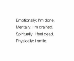 feelings, sad, and life image
