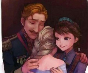frozen, disney, and family image