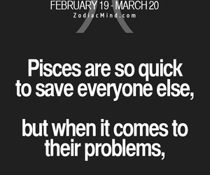 astrology, pisces, and problems image