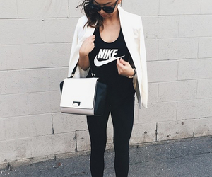 nike, black, and fashion image