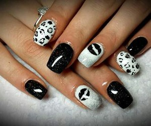 black, fashion, and fingers image