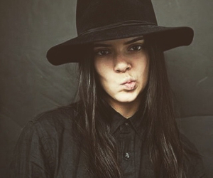 kendall jenner, model, and hat image