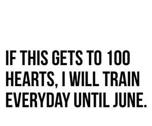 i want, training, and six pack image