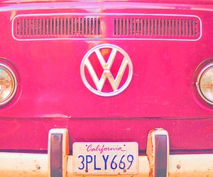 pink, california, and vintage image