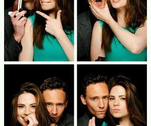 tom hiddleston, hayley atwell, and loki image