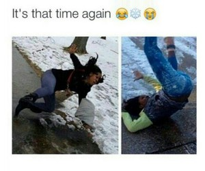 funny, winter, and lol image