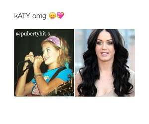 katy perry and puberty image