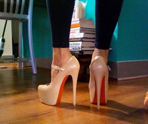 heels, shoes, and high heels image