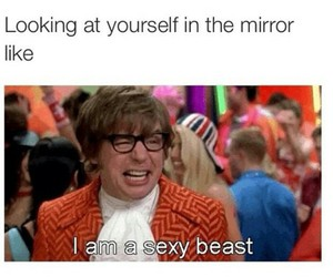 funny, austin powers, and sexy beast image