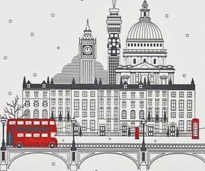 london, red, and Dream image