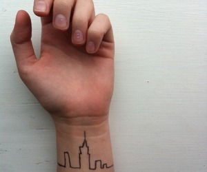 city and tattoo image