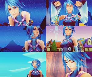 aqua, kingdom hearts, and kingdom hearts bbs image