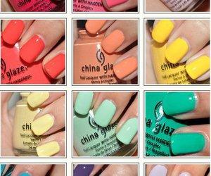 china glaze, nails colors, and nails fashion image