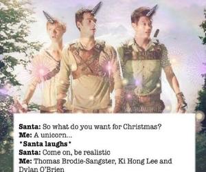 unicorn, thomas brodie-sangster, and ki hong lee image